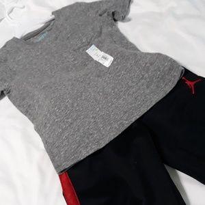 Jumping Bean Shirt NWT & Jordan Pants 3T